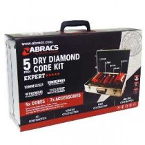 5pc Dry Diamond Core Kit