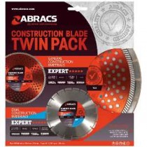 Expert 5 stars....Construction Blade Twin Pack