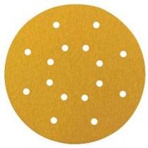 Hook & Loop 225mm Gold Discs