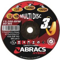 "Hybrid ""3-in-1"" Multi disc"