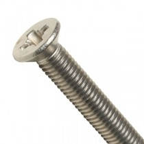 Pozi Countersunk Head Machine Screws