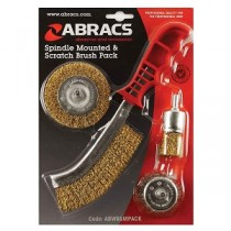 Spindle Mounted & Scratch Brush Pack
