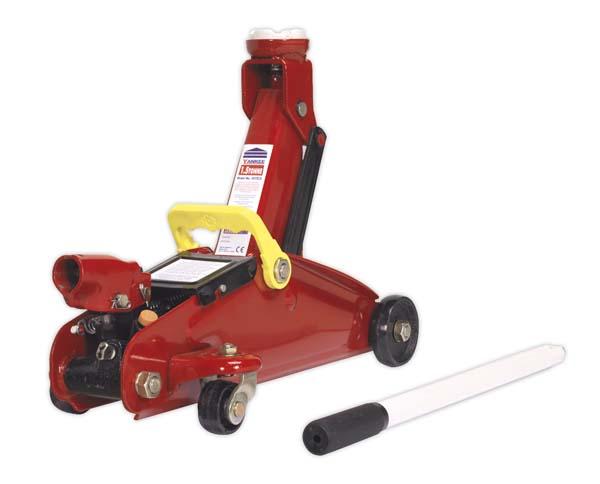Sealey - 1015CX  Trolley Jack 1.5tonne Short Chassis