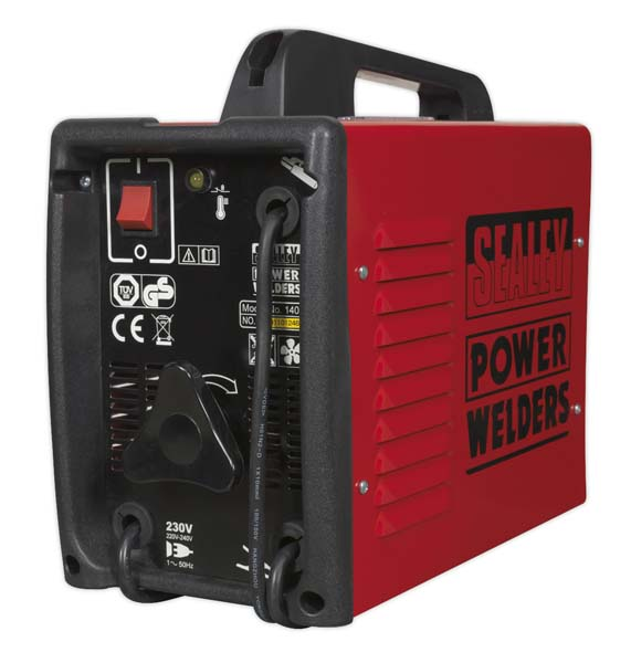 Sealey - 140XT  Arc Welder 140Amp with Accessory Kit