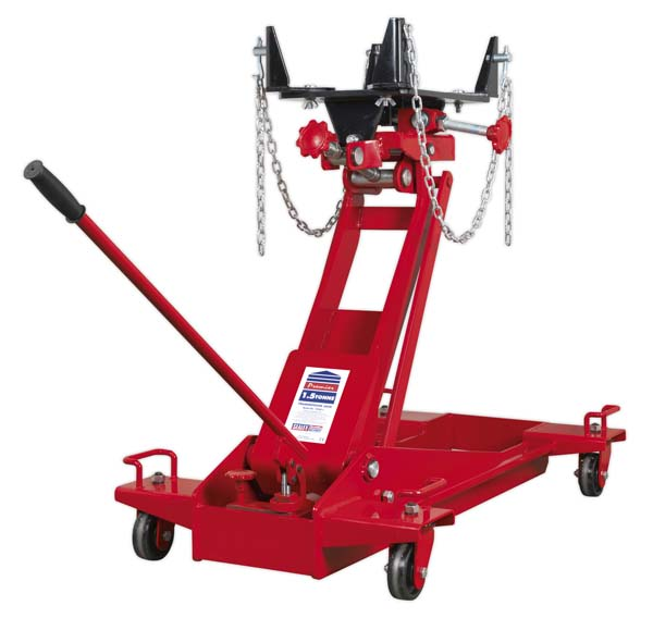 Sealey - 1500E  Transmission Jack 1.5tonne Floor