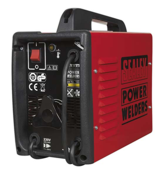 Sealey - 160XT  Arc Welder 160Amp with Accessory Kit