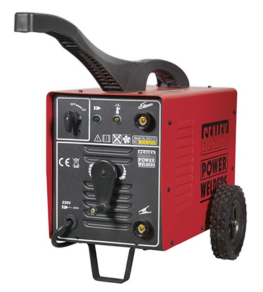 Sealey - 200XTD  Arc Welder 200Amp with Accessory Kit