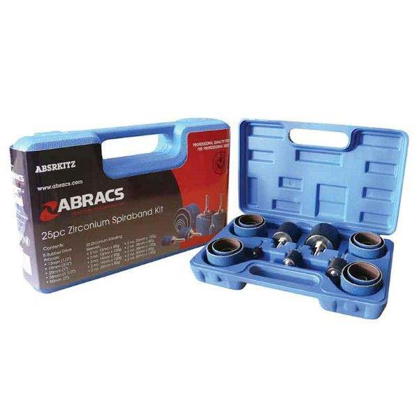 Abracs  25pc SPIRABAND KIT - ZIRCONIUM