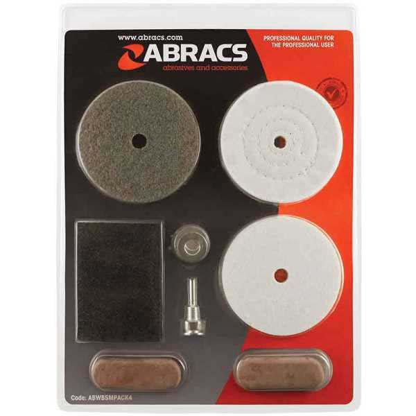 Abracs  7pc BUFFING/POLISHING KIT