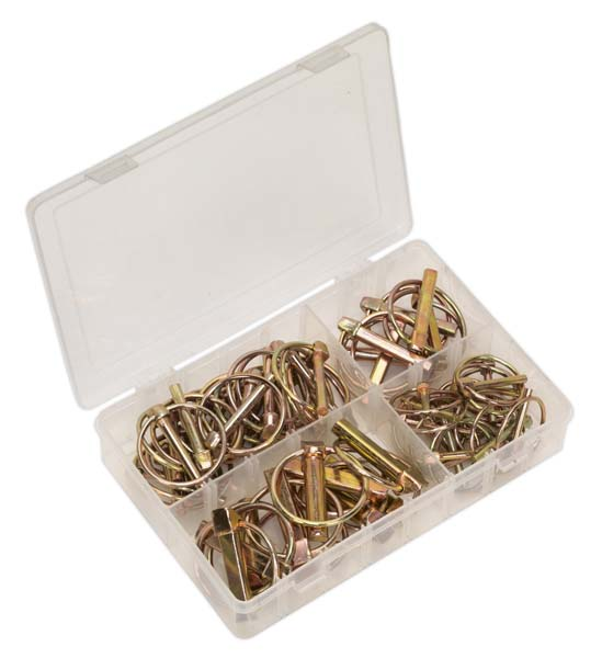 Sealey - AB022LP  Linch Pin Assortment 50pc Metric