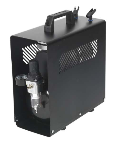 Sealey - AB9001  Mini Air Brush Compressor 3ltr Tank