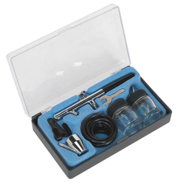 Sealey - AB932  Air Brush Kit Professional without Propellant