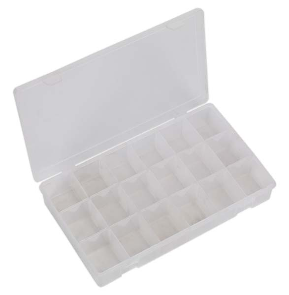 Sealey - ABBOXLAR  Assortment Box with 12 Removable Dividers
