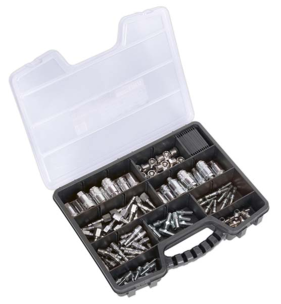 Sealey - AC110K  Air Coupling Kit 110pc