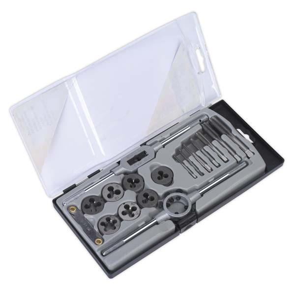Sealey - AK321  Tap & Die Set 17pc Metric