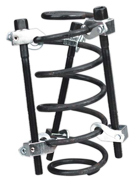 Sealey - AK384  Coil Spring Compressor 3pc with Safety Hooks