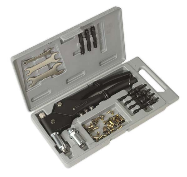 Sealey - AK396 Blind Nut & Stud Riveting Kit