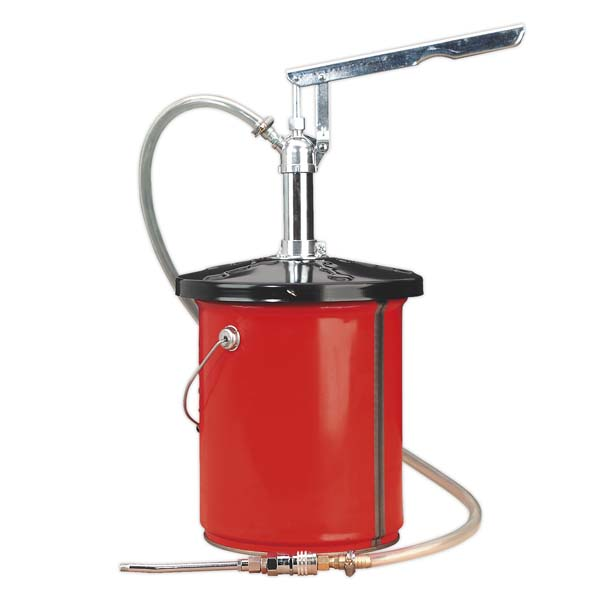 Sealey - AK456  Chassis Lube Filler Pump 12.5kg Extra Heavy-Duty