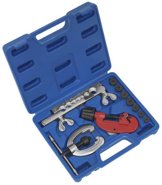 Sealey - AK506  Pipe Flaring & Cutting Kit 10pc