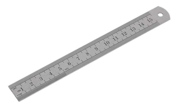 Sealey - AK9640  Steel Rule 150mm/6""
