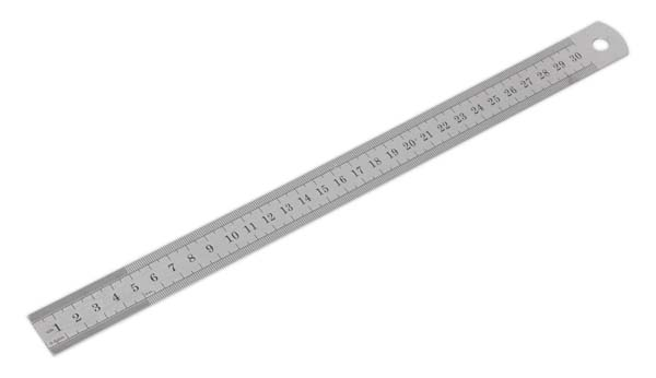 Sealey - AK9641  Steel Rule 300mm/12""