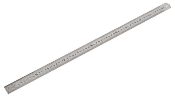 Sealey - AK9642  Steel Rule 600mm/24""
