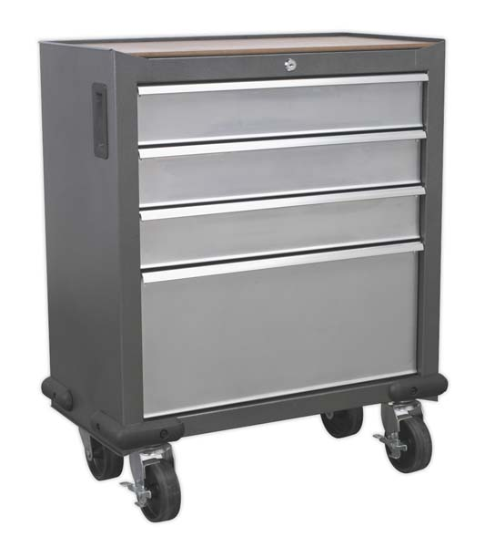 Sealey - AP04DFC  Mobile Cabinet 4 Drawer