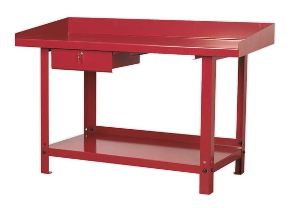 Sealey - AP1015  Workbench Steel 1.5mtr with 1 Drawer
