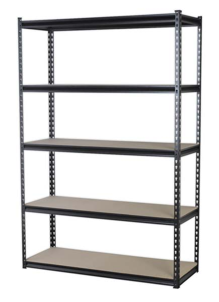 Sealey - AP1200R  Racking Unit with 5 Shelves 220kg Capacity Per Level