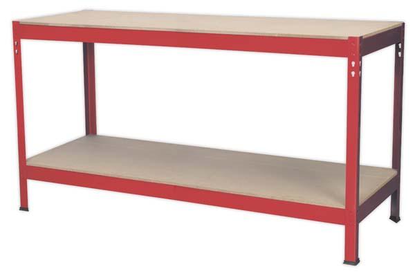 Sealey - AP1535  Workbench 1.53mtr Steel Wooden Top