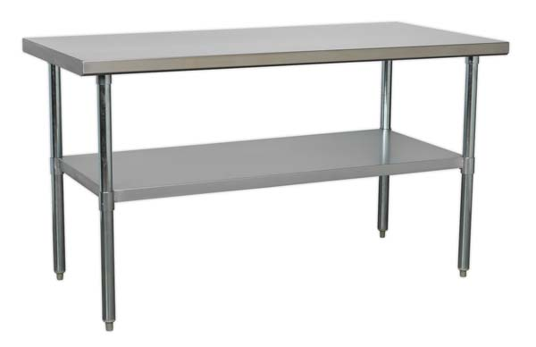 Sealey - AP1560SS  Stainless Steel Workbench 1.5mtr