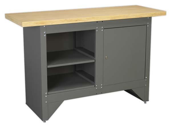 Sealey - AP2010  Workbench with Cupboard Heavy-Duty