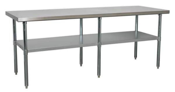 Sealey - AP2184SS  Stainless Steel Workbench 2.1mtr