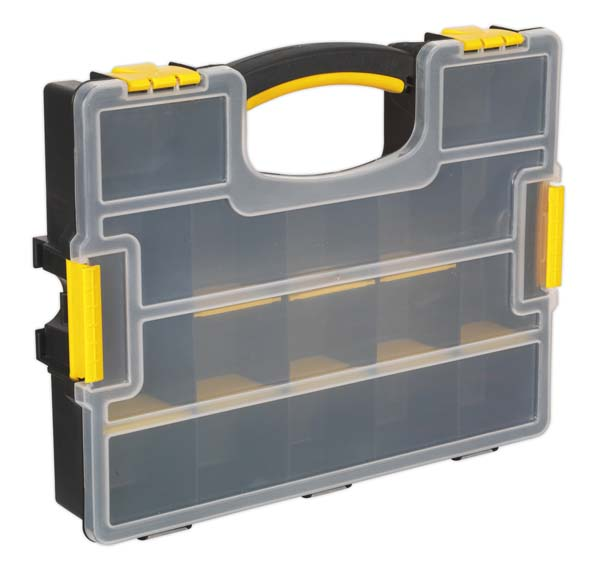 Black Sealey APAS22 22 Compartment Assortment Case