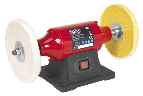 Sealey - BB2002  Bench Mounting Buffer/Polisher 200mm 550W/230V