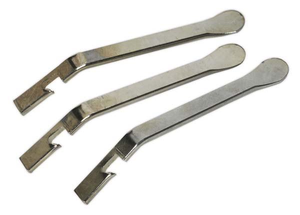 Sealey - BC050  Steel Tyre Lever Set 3pc - Bicycle