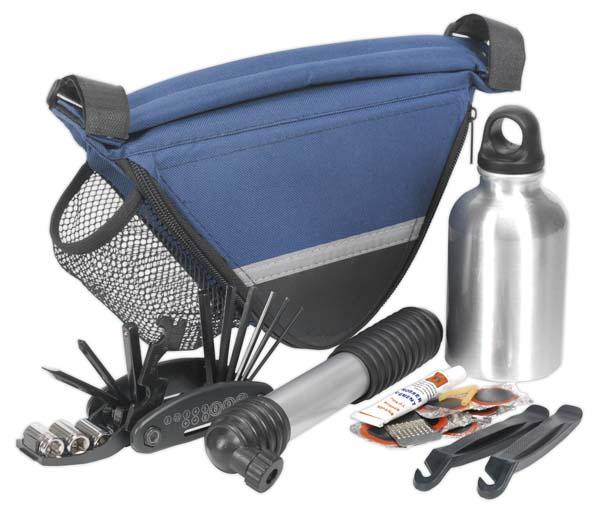 Sealey - BC211  Repair Kit with Frame Bag - Bicycle