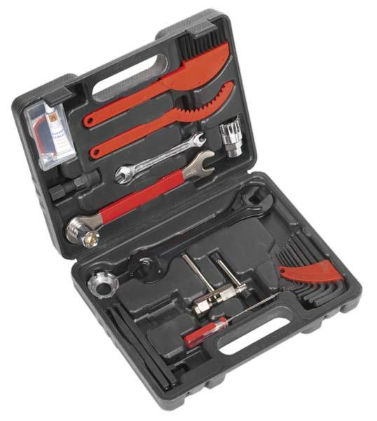 Sealey - BC220  Tool Kit 15pc - Bicycle