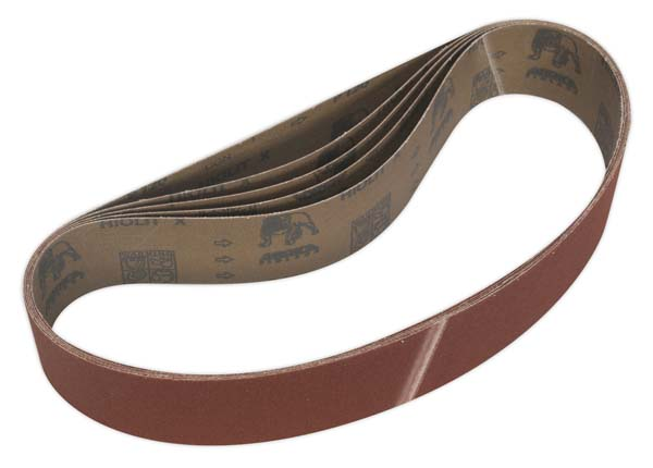Sealey - BG150B120G  Sanding Belt 50 x 686mm 120Grit Pack of 5