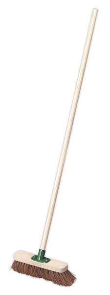 "Sealey - BM12S  Broom 12""(300mm) Soft Bristle"