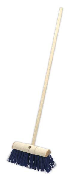"Sealey - BM13H  Yard Broom 13""(325mm) Stiff/Hard Bristle"