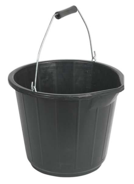 Sealey - BM16  Bucket 14ltr - Composite