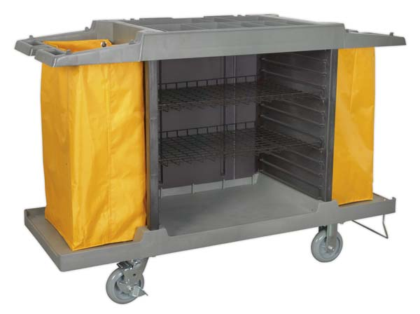 Sealey - BM32  Janitorial/Housekeeping Cart