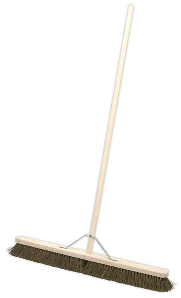"Sealey - BM36H  Broom 36""(900mm) Stiff/Hard Bristle"
