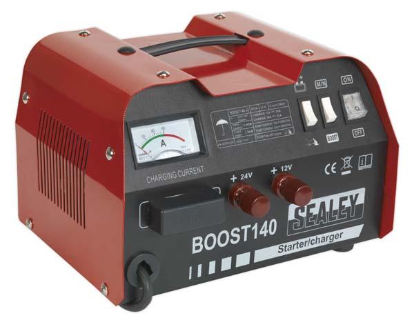 Sealey - BOOST140  Starter/Charger 140/25Amp 12/24V 230V