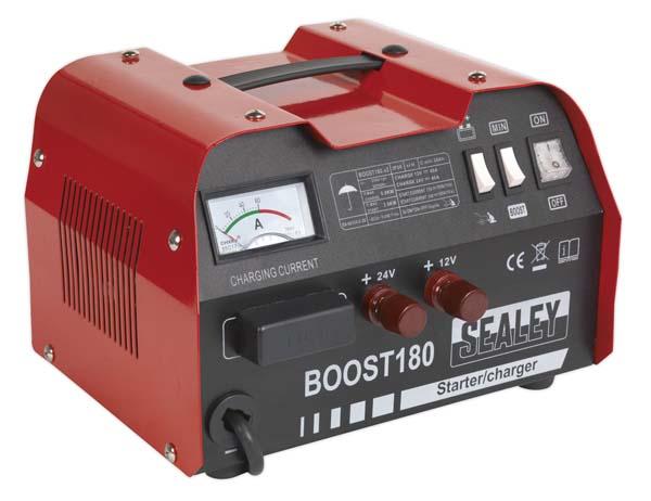 Sealey - BOOST180  Starter/Charger 180/40Amp 12/24V 230V