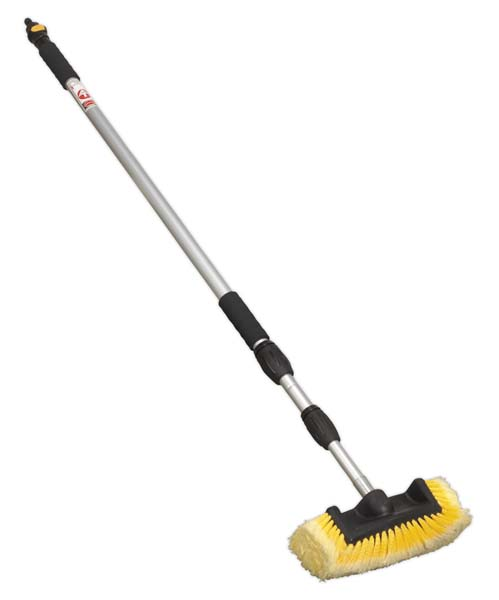 Sealey - CC953  Five Sided Flo-Thru Brush with 3mtr Telescopic Handle