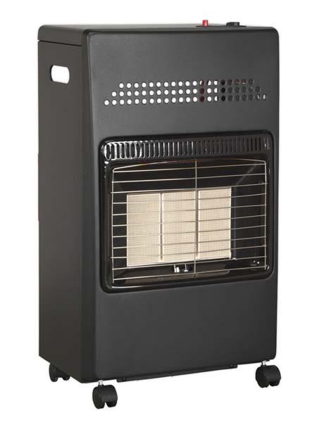 Sealey - CH4200  Cabinet Gas Heater 4.2kW