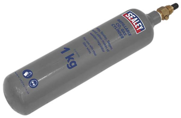 Sealey - CO2/1KG/REFIL  Gas Refill Carbon Dioxide 1000g