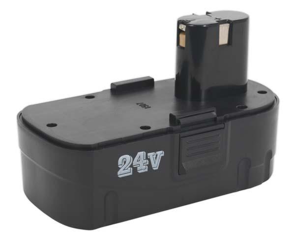 Sealey - CP2450MHBP  Cordless Power Tool Battery 24V 2Ah Ni-MH for CP2450MH